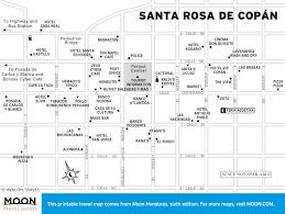 Map Of Roatan Honduras Printable Travel Maps Of Honduras Moon Travel Guides
