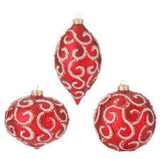 black and white glass ornaments raz imports