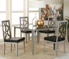 stainless steel dining table set modern kitchen furniture photos
