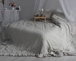 100 Linen Duvet Cover 100 Linen Duvet Cover Eco Organic Bedding Twin Full Queen