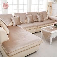 Cover Leather Sofa Free Shipping Grey Camel Black Velvet Sofa Cover Flannel Plush