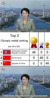 North Korea South Korea Meme - north korean olympic coverage imgur