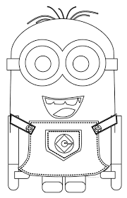 minions best coloring pages wecoloringpage