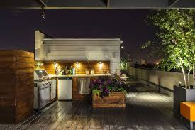 stainless steel cabinets for outdoor kitchens exteriors chic outdoor kitchen design with l shape brown