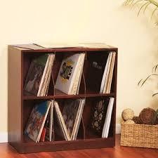 Vinyl Record Bookcase Vinyl Record Storage Cabinet Wayfair