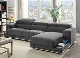 Sectional Sofas Modern Modern Fabric Sectional Sofa