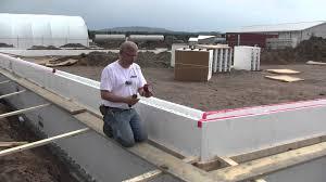 building forms for concrete walls house plans