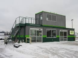 retail and office space using shipping containers mods international
