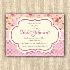 baby shower invitations captivating shabby chic baby shower