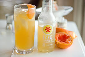 tom collins orangey peach tom collins featuring izze soda pdxfoodlove