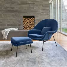 saarinen womb ottoman by knoll yliving