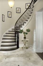 Staircase Wall Design by 100 Stair Wall Railing Transitional Stairs Foyer Pinterest