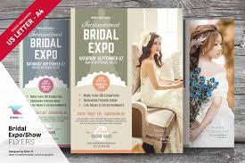 wedding expo backdrop bridal expo or show flyer template flyer templates creative market