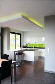 faux plafond cuisine design eclairage encastrable faux plafond attraper les yeux eclairage