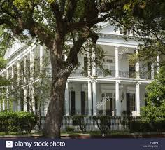 Lin Family Mansion And Garden Mansion In The Garden District Stock Photos U0026 Mansion In The