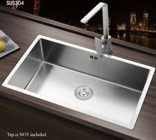 Square Sink Kitchen Unbranded Single Bowl Kitchen Sinks With Taps Ebay