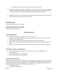 patient care resume patient care coordinator resume sle