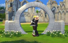 wedding arches in sims 4 my sims 4 mill wedding arch by biguglyhag