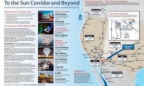 Uofa Map Sonoran Corridor Tech Parks Arizona