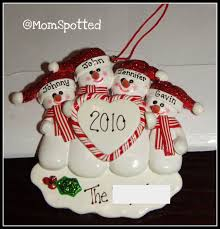 ornaments to personalize personalized family christmas ornaments review giveaway