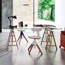 bureau trepied 39 idées déco de tréteaux pour créer une table ou un bureau