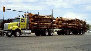 trade trucks kenworth b c logging trucks 02 kenworth peterbilt western star