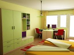 Bedroom Hanging Cabinet Design Green Bedroom And Wood Floor Extraordinary Home Design