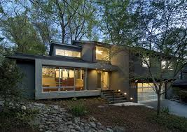 level house arlington residence contemporary exterior dc metro by kube