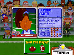 Backyard Football 2002 Cheats Jocinda Smith Backyard Sports Video Game Character Profile