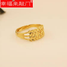 gold ring design 24k gold ring simple and gold plated rings alluvial