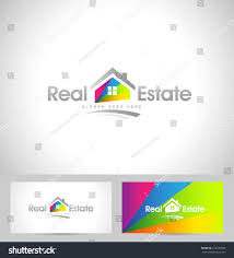 Real Estate Cards Template by Real Estate Logo Design Creative Abstract Stock Vector 273334583