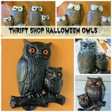 Vintage Halloween Owl by Organized Clutter Three Dollar Halloween Decor