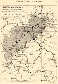 Balkans Map Map Of The Balkan 1912