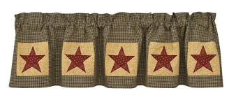 Park Design Valances Country Star Pine Hill Collections