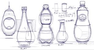 industrial design sketchbook pro how to draw bottles using the symmetry axis