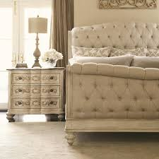 Bedroom Decorating Ideas With Sleigh Bed Bedroom Tufted Leather Sleigh Bed Plywood Wall Decor Piano Lamps