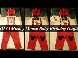mickey mouse 1st birthday shirt diy mickey mouse baby birthday