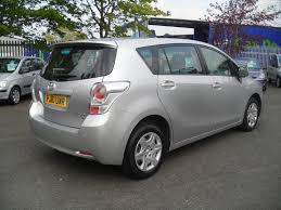 toyota verso 5 seater 1 6 t2 valvematic 5dr manual for sale in