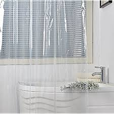 Shower Curtain Sizes Small Amazon Com Eforcurtain Eco Friendly Shower Curtain Liner No