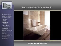 Travertine Bathtub Plumbing Fixtures Introduction Classification Water Demand Traps