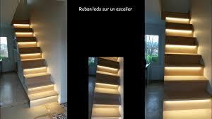ruban led escalier quelques réalisations