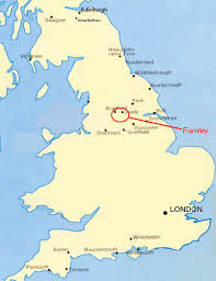 England On The Map by Map Of United Kingdom Showing Leeds Etc