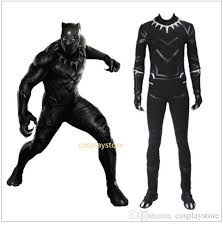 custom jumpsuits 2017 costume black panther captain america 3