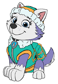 chase dog paw partols clipart coloring bbcpersian7