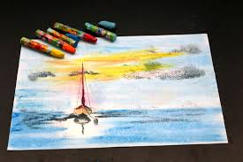 how to draw with oil pastels 8 steps with pictures wikihow