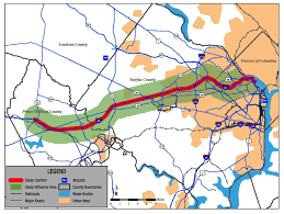 Route 66 Map Maps Prince William Conservation Alliance