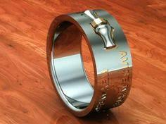Mens Hunting Wedding Rings by Men U0027s Laser Carved Titanium Ultimate Deer Hunting Ring Deer