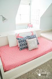 Plans For A Twin Platform Bed Frame by Diy Platform Dresser Bed Shanty 2 Chic