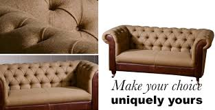 chesterfield sofa in fabric bespoke fabric u0026 leather for chesterfield sofa modish living