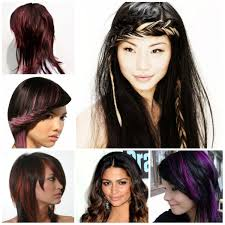 black hairstyles with trendy highlights 2016 2017 haircuts